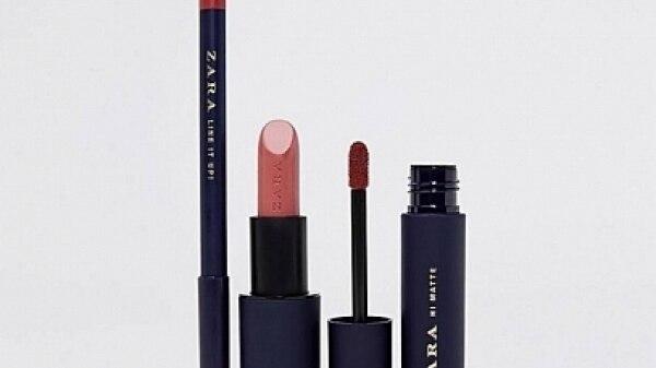 Zara lança coleção de batons matte