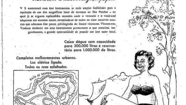 Há 65 anos, eram vendidos lotes na Ilha Porchat