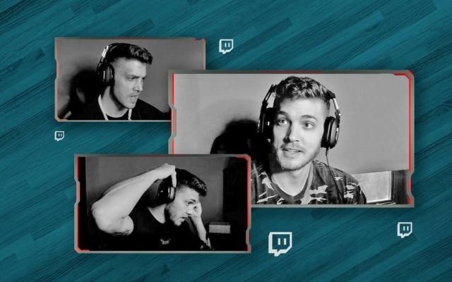 Meyers Leonard, em suas transmissões pelo Twitch