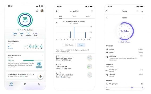 O aplicativo Google Fit funciona nos sistemas operacionais Android e iOS