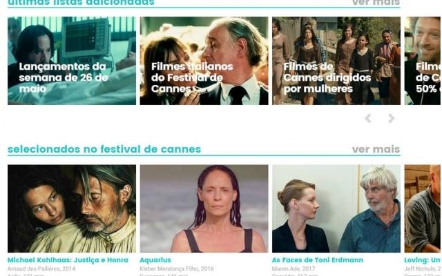 Listas temáticas dão dicas de onde usuário deve assistir filmes no streaming