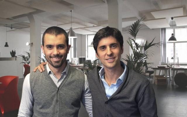 Matías Fernández Barrio e Matías Rossetto, fundadores da Karvi