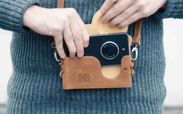 Fabricante de câmeras digitais, Kodak lança novo smartphone