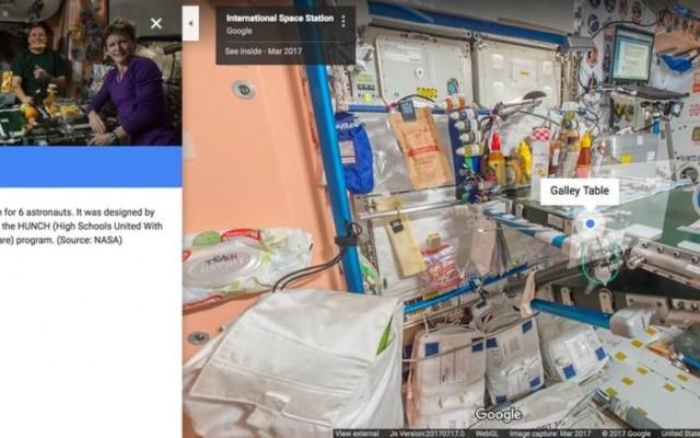 Ferramenta tem também explicações sobre o cotidiano dos astronautas na ISS