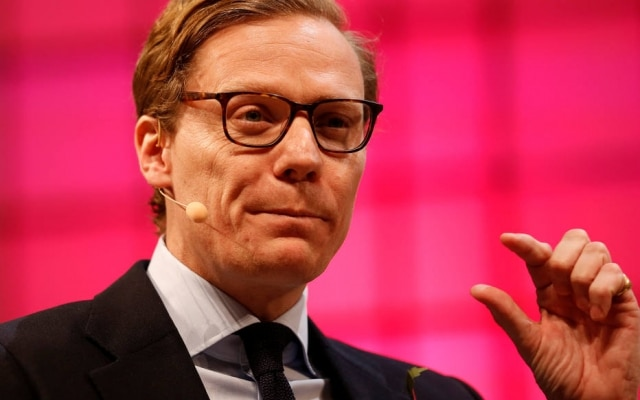 Alexander Nix é o presidente da Cambridge Analytica