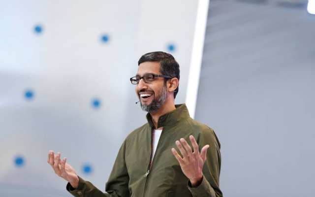 Sundar Pichai é o presidente do Google