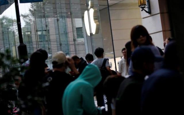 Japoneses esperam pela chegada do iPhone 7 em Tóquio