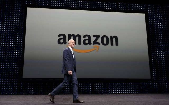 O fundador da Amazon, Jeffrey P. Bezos