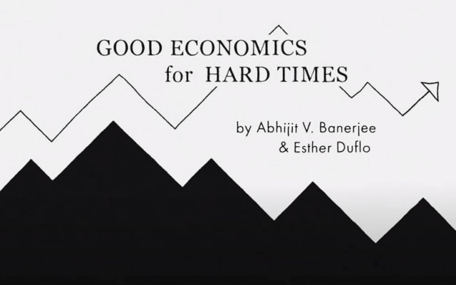 """Good Economics for Hard Times"", por Abhijit V. Banerjee e Esther Duflo"