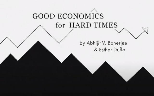 """Good Economics for Hard Times"", por Abhijit V. Banerjee e Esther Duflo"