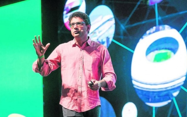 Ben Gomes, vice-presidente de buscas do Google, em visita ao País na última semana