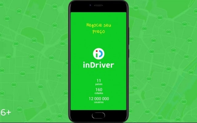 InDriver começou a operar em São Paulo