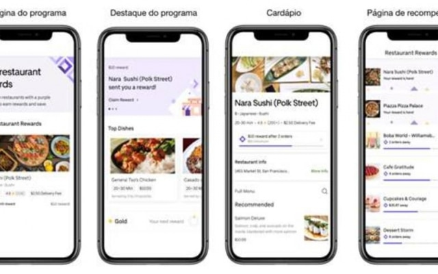 Uber Eats terá prêmios para clientes fieis