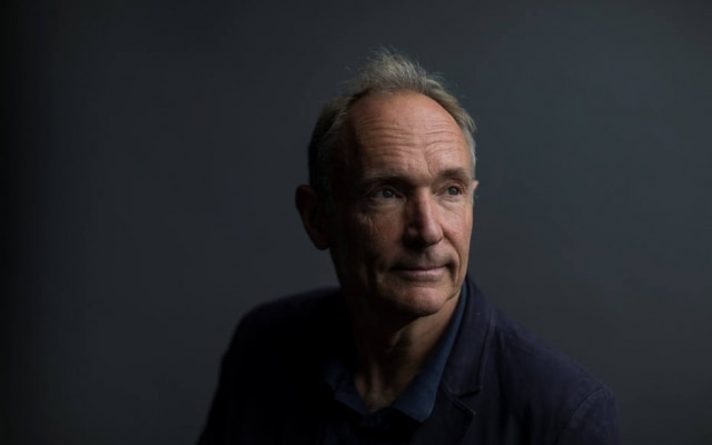 Tim Berners-Lee está trabalhando em um projeto de software de código aberto, chamado Solid, em que os dados pessoais das pessoas são controlados pelo usuário