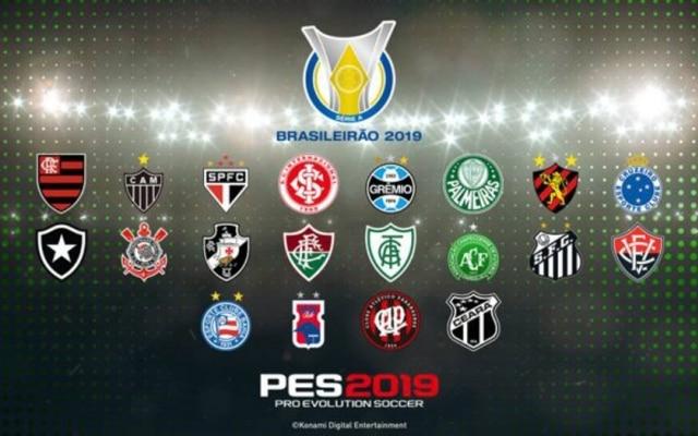Todos os 20 times da Série A do Brasileirão estarão no jogo da Konami