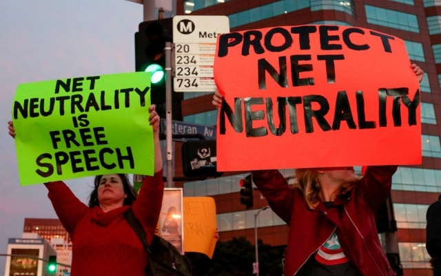 A FCC votou em dezembro do ano passado para reverter a lei de neutralidade da rede adotada por Obama em 2015