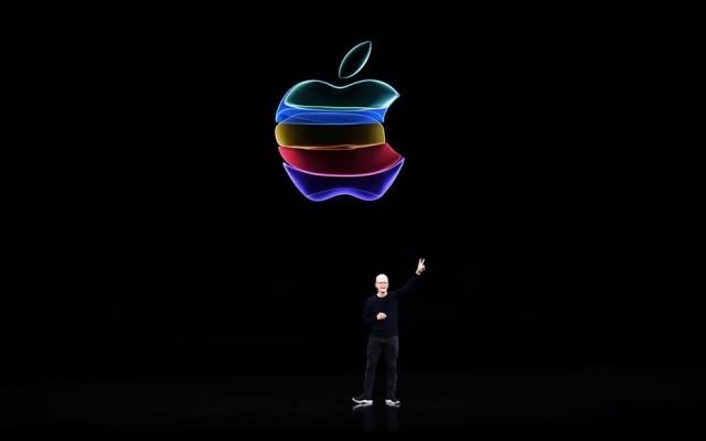 Tim Cook, no palco do evento da Apple: revelação não de produtos, mas de um ecossistema