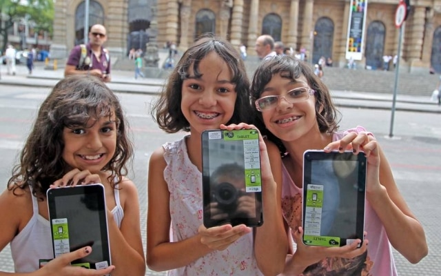 A venda de tablets ainda é significativa no setor infantil.