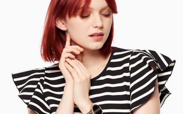 Kate Spade, conhecidapelos seus produtos de moda, entrou oficialmente no mercado de relógios inteligentes na CES 2018