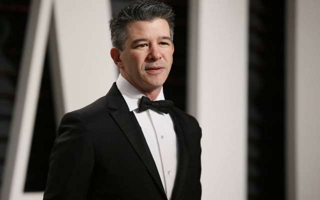 O cofundador do Uber, Travis Kalanick