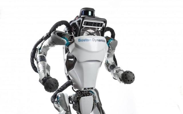 O robô humanoide Atlas, da Boston Dynamics, que teve nova versão anunciada nesta quinta-feira