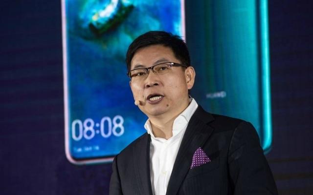 Richard Yu, presidente executivo da área de consumo da Huawei