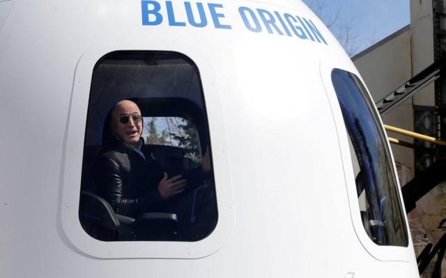 A Blue Origin planeja que sua espaçonave de seis lugares decole em 20 de julho