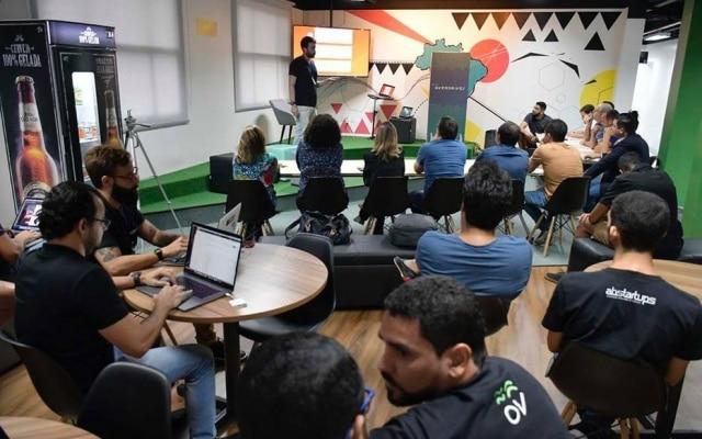 A aceleradora Overdrives reúne startups de diferentes Estados do Brasil