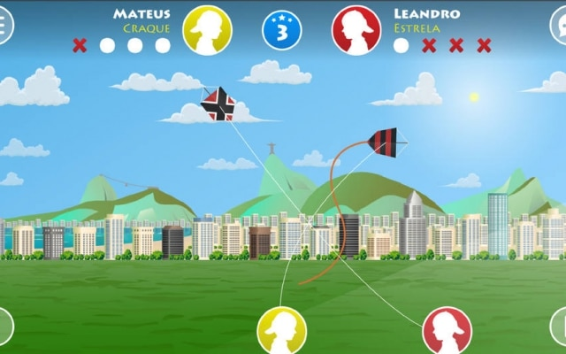 Game League of Kites reproduz batalhas de pipas no celular