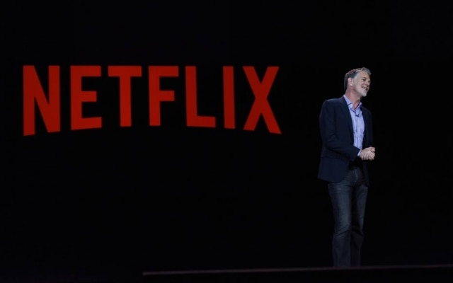 O co-fundador e presidente executivo do Netflix, Reed Hastings