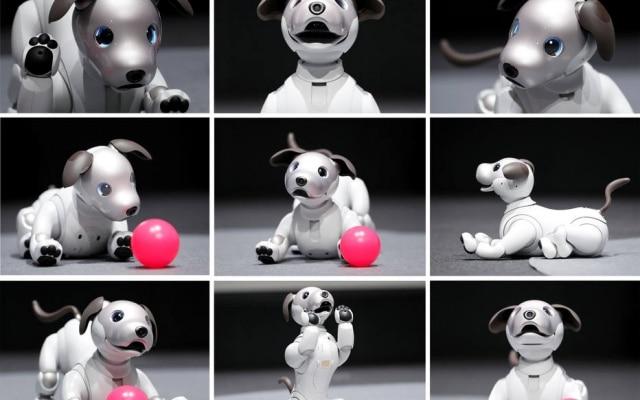 Nova tecnologia de atuador permite ao cãozinho até correr em volta do dono e tirar fotos