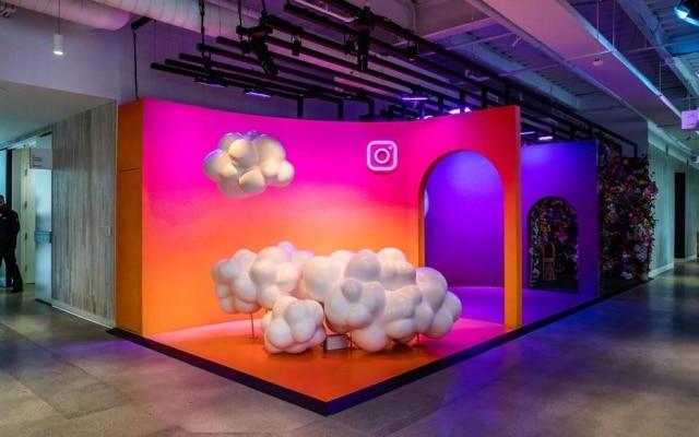 Nas nuvens. Sede do Instagram em Menlo Park, na Califórnia