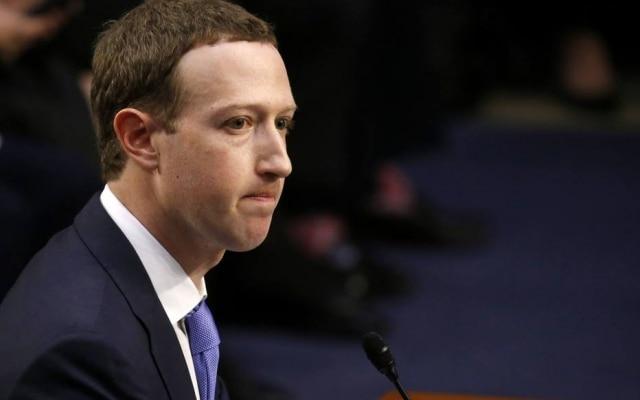Mark Zuckerberg é presidente executivo do Facebook