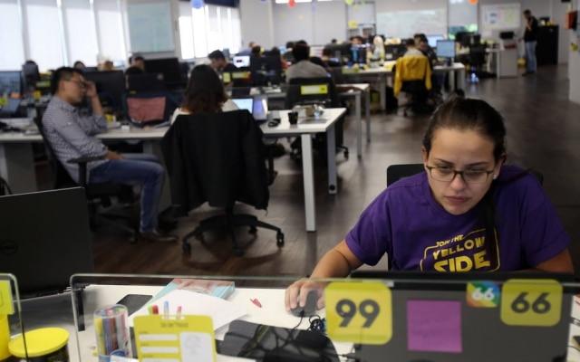 Escritório da 99 em São Paulo: empresa já tem mais de 350 funcionários