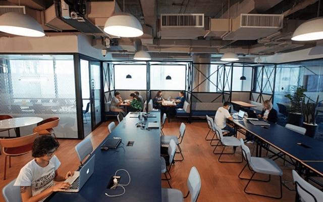 Espaço de inovação do Bradesco em São Paulo