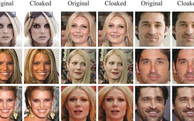 Antes e depois das fotos de Jessica Simpson (esq.), Gwyneth Paltrow (centro)e Patrick Dempsey (dir.), encobertas pela equipe de Fawkes