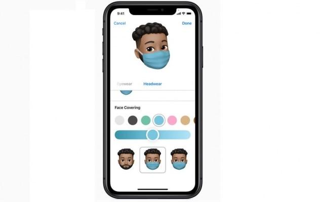Memojis ganharam opção do 'ícone' da moda de 2020: as máscaras