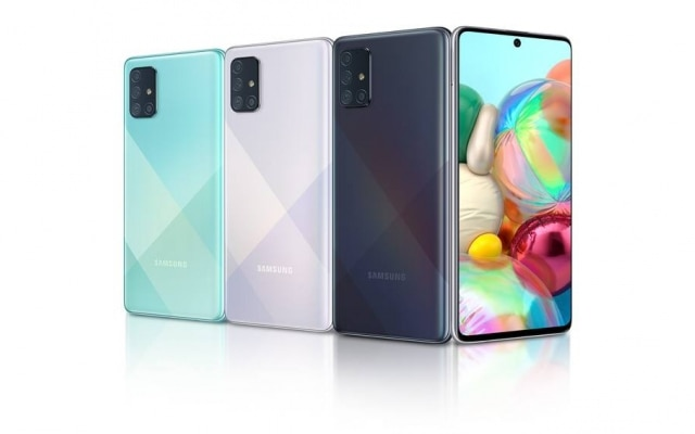 Galaxy A71: a maior tela, a melhor bateria e o celular mais robusto da lista.