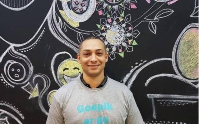 Wellington Moscon, da startup GoEpik, que está em uma aceleradora