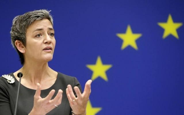 A chefe da Comissão Europeia, Margrethe Vestager.