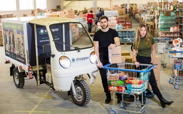 Shopper, de Blanco e Bruna, tem galpão próprio para facilitar logística na zona oeste de SP