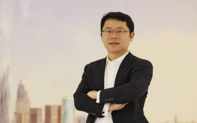 Sun Baocheng, presidente local da Huawei