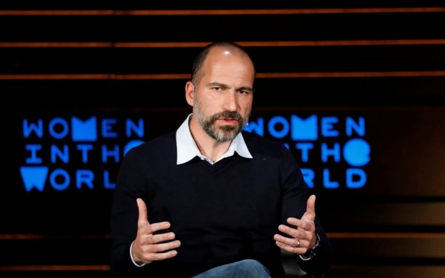 Dara Khosrowshahi é presidente executivo do Uber.
