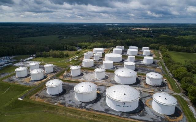 Estação da Colonial Pipeline em Maryland; empresa sofreu ataque hacker e interrompeu operação que abastece Costa Leste dos EUA com quase metade do combustível utilizado na região.
