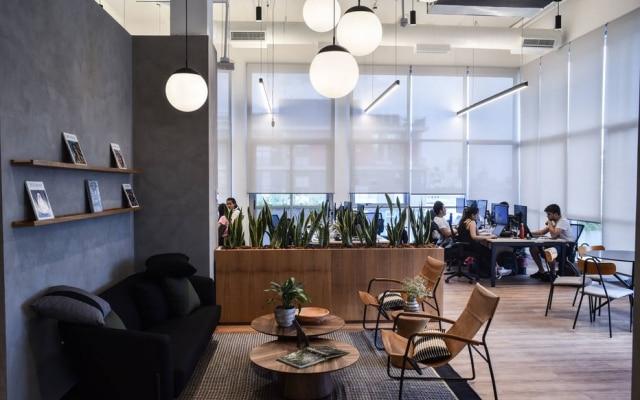 O escritório recém-inaugurado do Quinto Andar, em São Paulo: cortes em todas as áreas