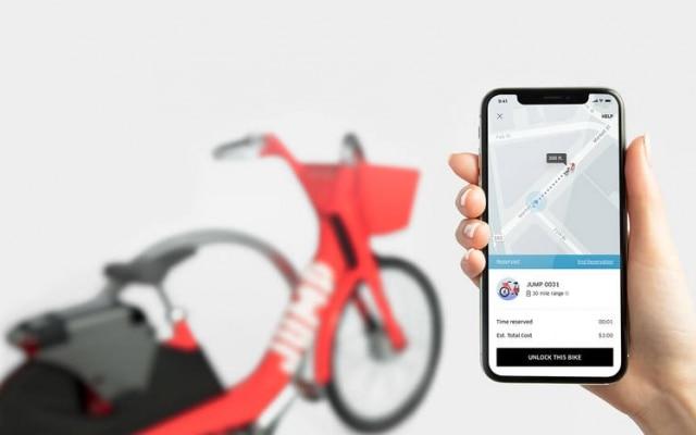 O Uber comprou a startup Jump em abril deste ano