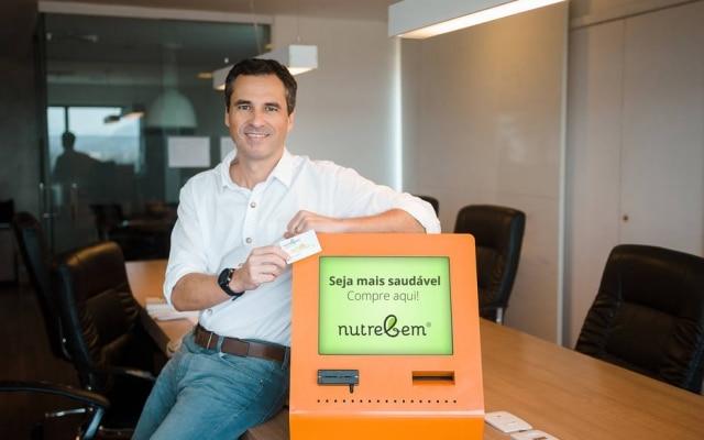 Henrique Mendes, presidente executivo da startup Nutrebem, que oferece serviço de pagamento em cantinas escolares