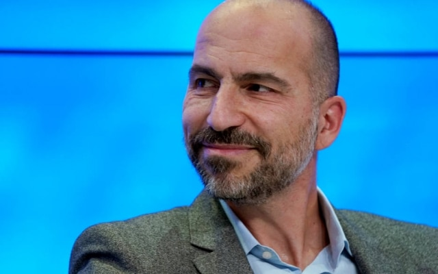 Dara Khosrowshahi é presidente-executivo do Uber