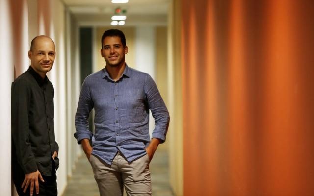 Lucas Moraes e Cristiano Oliveiralançaram app Olivia nos Estados Unidos há um ano e meio