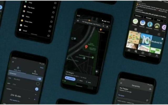 Modo escuro no Google Maps e outros apps da gigante